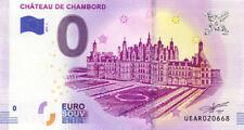 41 CHAMBORD Château, 2019, Billet 0 € Souvenir
