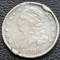 1835 Capped Bust Dime 10c High Grade XF Details #31146
