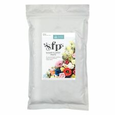 Squires White Sugar Florist Paste 1kg BULK Modelling SFP Sugarcraft Flowers