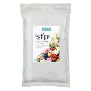Squires White Sugar Florist Paste 1kg BULK Modelling SFP Sugarcraft Flowers