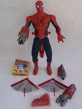 "2004 Spider-man 2 Ultimate Web Shooter 12"" Figure Plus Accessories Jammed Hand"