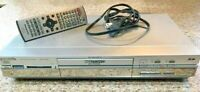 Panasonic DVD 120GB Hard Drive Video Recorder & Remote DMR-E100H Parts or Repair