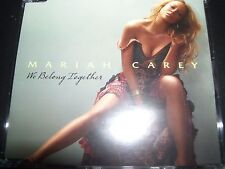 Mariah Carey We Belong Together Rare Australian CD Single