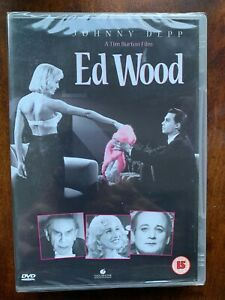 Ed Wood DVD 1994 Cult Filmmaker Biopic Comedy Classic with Johnny Depp BNIB