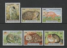 CAMBODIA 1996 WILD CATS FULL SET OF 6 **FINE MINT NEVER HINGED**