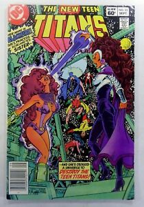 DC NEW TEEN TITANS (1982) #23 Key 1st BLACKFIRE App NEWSSTAND VF Ships FREE!