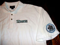 Cleveland Barons Defunct 2001-2006 AHL Minor League Hockey XL Polo Shirt w Patch