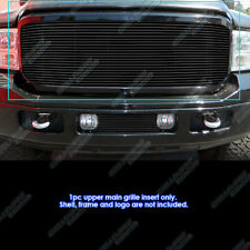 Fits 2005-2007 Ford 250/350/450/Excursion Black Grille Insert
