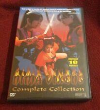 Ninja Vixens - Complete Box Set RARE OOP 10 DVD box set Bounty Hunter Vixens