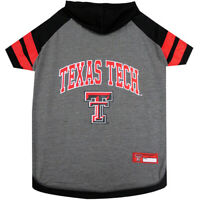Texas Tech NCAA Pets First Officially Licensed Dog Pet Hoodie Tee Shirt XS-L