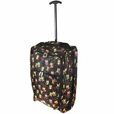 CABIN APPROVED HAND LUGGAGE TROLLEY CASE TRAVEL BAG SUITCASE RYANAIR EASYJET NEW