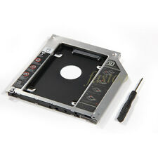 Apple Macbook Pro/Unibody Caddy Optibay 2nd HDD/SSD SATA Replaces DVD-D 9.5mm fo