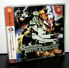 GUNDAM BATTLE ONLINE USATO OTTIMO STATO DREAMCAST EDIZIONE JAP NTSC/J VBC 38172