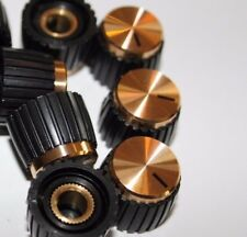Ein MPKG Potiknopf Gold Madenschraube für Marshall Amp Reglerknopf Verstärker