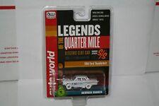 Rare Auto World iWheels Georgia Shaker 1964 Ford Thunderbolt HO Scale Slot Car