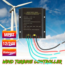 MPPT 12V/24V 600W Waterproof Wind Turbine Generator Charge Controller Power