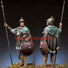 Unassembled Resin Ancient Warrior Figure Model Unpainted Knight Garage Kit 1:24