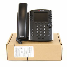 Polycom VVX 411 VoIP IP SIP PoE Conference Business Phone Set Telephone - New