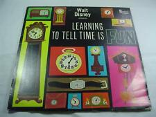 Disney - Learning To Tell Time Is Fun -  D-1263  -