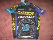 Collstrop Concorde Ultima Italian cycling jersey [5/XL] c1994 New bagged/tagged