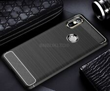 For Xiaomi Mi Mix 2s Carbon Fibre Gel Case Cover Shockproof Ultra Slim
