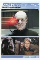 the Complete Star Trek the Next Generation series 1 promo card P1