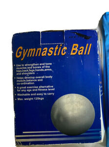Gymnastic Ball In Box 1.25kg - Brand New Unopened