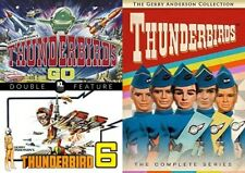 Thunderbirds: Complete 1960s Animated TV Series + 2 Movies NEW DVD BUNDLE SET