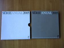 Offizieller EURO KMS Portugal 2005 FDC Serie Anual 2005 siehe Bilder