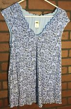 NWW Old Navy Medium Maternity Top Pretty Floral Pattern Shirt Top Blouse NEW