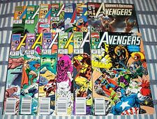 Lot of 13 Avengers Comics from #319 - 378 with Captain America, Iron Man & Thor