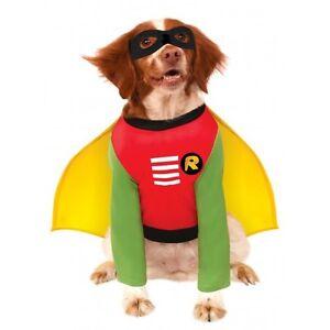Batman or Robin Dog Costume - Sizes S-M-L-XL-2XL-3XL