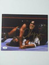 CHYNA Signed 8x10 Photo WWF WWE Wrester Diva Autograph Pinning Mankind JSA COA L