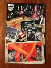 The X-files Conspiracy #1 Ghostbusters NM 1st Print IDW Comic 2014