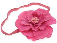 Kelly rose chaud fleur bandeau cheveux bande