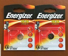 2 ENERGIZER HONDA CIVIC JAZZ CRV  HRV  ACCORD REMOTE KEY FOB BATTERIES CR1616