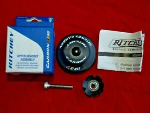 Ritchey Carbon WCS Headset Upper ZS44/28.6 Straight Tapered Titanium ID 44
