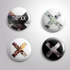 4 THE XX -  Pinbacks Badge Button 25mm 1''