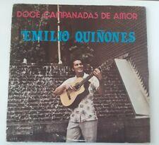 Emilio Quiñones Doce Campanadas De Amor Borincano Records VG+ LP #4274