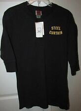 NFL Pittsburgh Steelers Iron Curtain Shirt by Nike Medium Brand New NWT