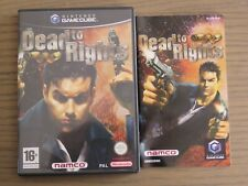 JEU NINTENDO GAMECUBE DEAD TO RIGHTS COMPLET