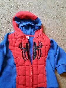 Spiderman Hoodie 2-3 years