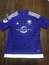 Orlando City Adidas MLS Jersey Youth Large EUC