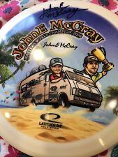 JohnE McCray Autographed Masters Champ Latt 64 Striker 174 G