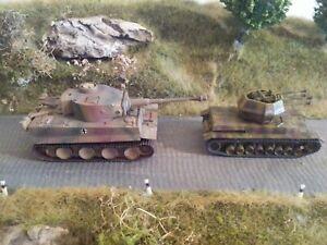 Roco 1:87 Fahrzeuge Tiger I & Panzer IV 2cm vierl. Flak der Wehrmacht ohne OVP
