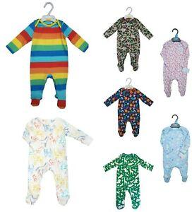 BABY BOY GIRL Dinosaur Animals Rainbow Babygrow Bodysuit Sleepsuit Romper suit