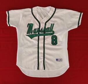 Marshall University Thundering Herd #8 Game Used Baseball Jersey Size 46