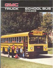 1986 GMC School Bus Brochure Cowl/Fwd Control/Vandura