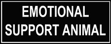 """Pair of Patches - """"EMOTIONAL SUPPORT ANIMAL"""""""