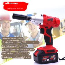 68V 7800mAh Impact Wrench Air Tools  Gun Set impact Wrenches Electric Drill Set